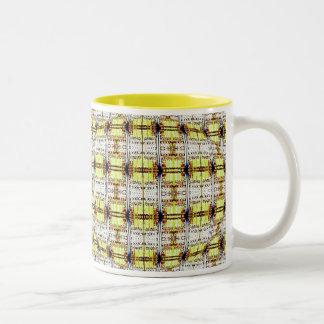 pastel mystic doors Two-Tone coffee mug