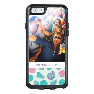 Pastel Nautical Pattern | Your Photo & Text OtterBox iPhone 6/6s Case