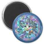 Pastel Nebula Magnet