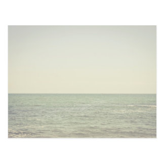 Pastel Ocean Photography Minimalism Postcard