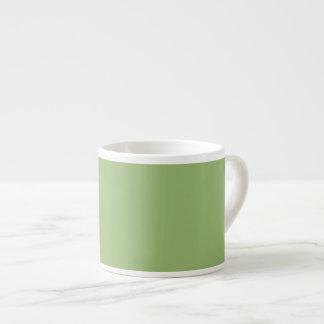 Pastel Olive Green Espresso Mug