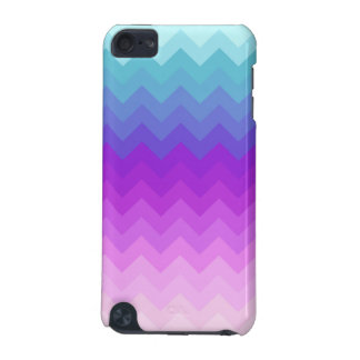 Pastel Ombre Chevron iPod Touch (5th Generation) Cases