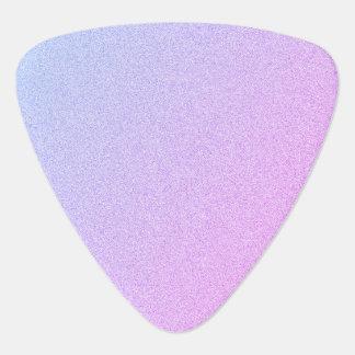 Pastel Ombre Glitter Guitar Pick