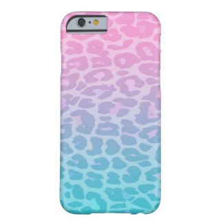 Pastel Ombre Leopard Barely There iPhone 6 Case