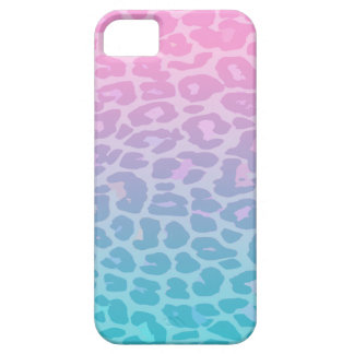 Pastel Ombre Leopard iPhone 5 Cover