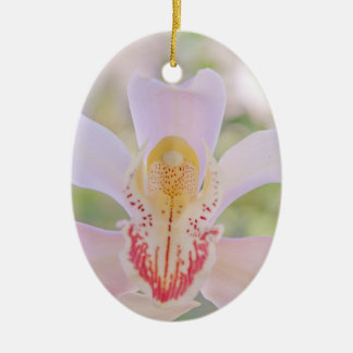 Pastel Orchid Christmas Tree Ornaments