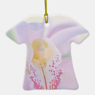 Pastel Orchid Christmas Ornaments