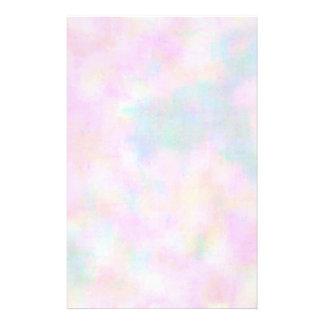 Pastel Paint Stationery