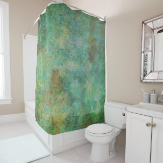 Pastel Paisley Shower Curtain