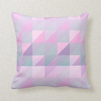 Pastel Palette Throw Pillow