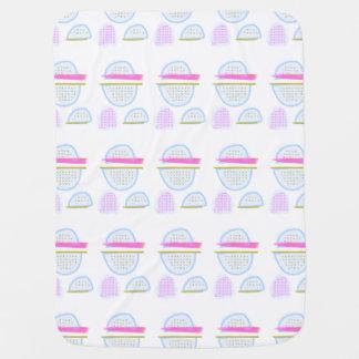 Pastel Pantone 2016 Trending Colors BABY BLANKET