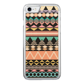 Pastel Party Aztec Pattern Carved iPhone 8/7 Case
