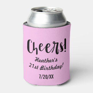 Pastel Party Can Cooler