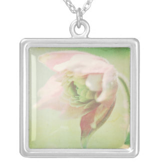 Pastel Paths XII Silver Plated Necklace