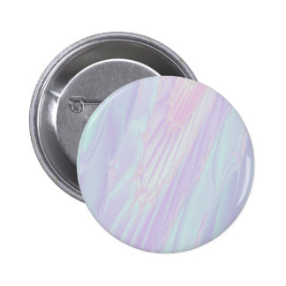 Pastel Pattern Fractal - Sea Shell Style. 6 Cm Round Badge