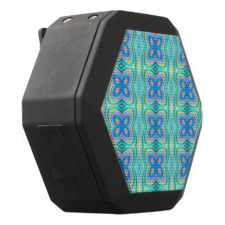 Pastel pattern Mandy,aqua(I) Black Boombot Rex Bluetooth Speaker