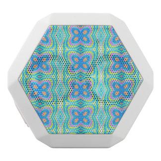 Pastel pattern Mandy,aqua(I) White Boombot Rex Bluetooth Speaker