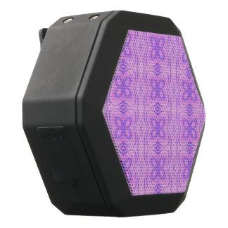 Pastel pattern Mandy,pink (I) Black Boombot Rex Bluetooth Speaker