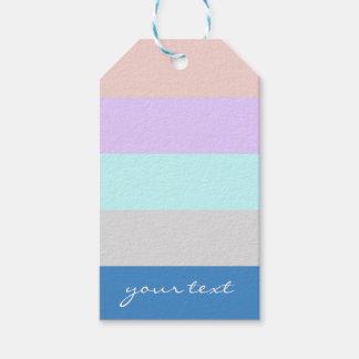 pastel peach purple mint grey blue color block