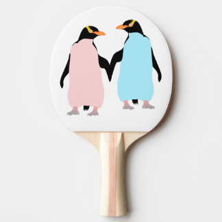 Pastel Penguins in Love