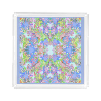 Pastel Perfume Tray for Women-Multi-colored