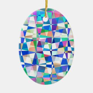 Pastel Pieces Christmas Ornament