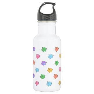 Pastel Pig Pattern 532 Ml Water Bottle