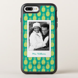 Pastel Pineapples | Add Your Photo & Name OtterBox Symmetry iPhone 7 Plus Case