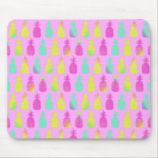 Pastel Pineapples Mouse Mat