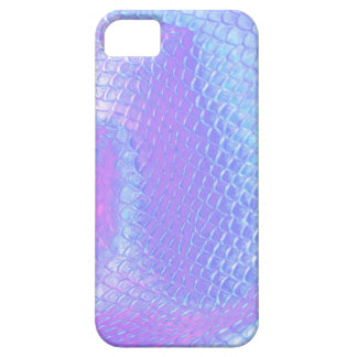 Pastel pink, aqua and lilac mermaid scaled barely there iPhone 5 case