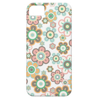 Pastel Pink Candy Daisies Flowers Girly Pattern iPhone 5 Covers
