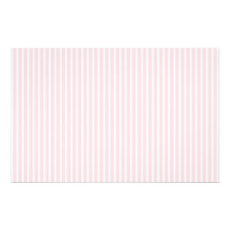 Pastel Pink Candy Stripes. 14 Cm X 21.5 Cm Flyer