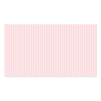 Pastel Pink Candy Stripes. Business Card Template