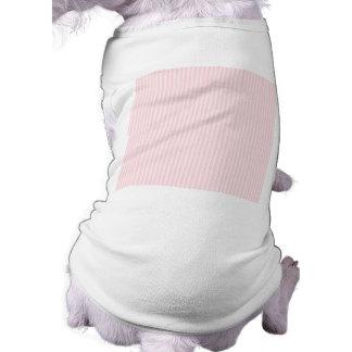 Pastel Pink Candy Stripes. Pet Tee