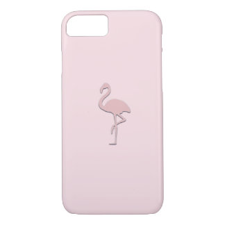 Pastel Pink Flamingo Case
