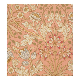Pastel Pink Flowers Poster