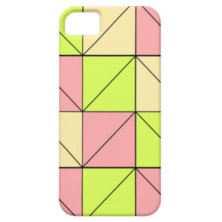 Pastel Pink, Green, and Yellow Phone Case