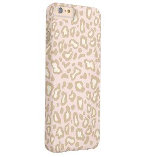 Pastel Pink Leopard iPhone 6 Plus Case