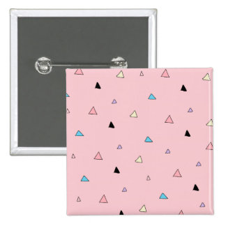 Pastel Pink Pieces Candy Chips Geometric Triangles Pins