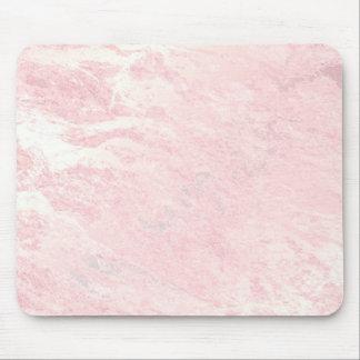 Pastel Pink Rose Gold Stone Blush Marble Mouse Mat