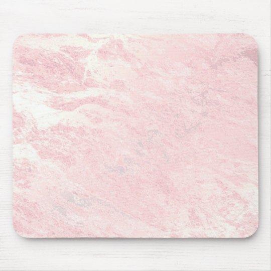 Pastel Pink Rose Gold Stone Blush Marble Mouse