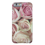 Pastel pink roses iPhone 6 case