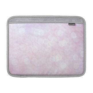Pastel Pink sparkles / glitter (matt) Sleeve For MacBook Air