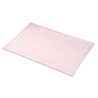 Pastel Pink Stripes. Placemat