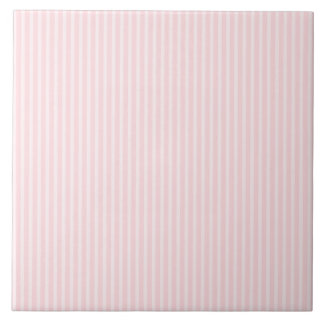 Pastel Pink Stripes. Tile
