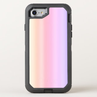 Pastel Pink Taffy Ombre Gradient Kawaii OtterBox Defender iPhone 8/7 Case