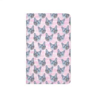 Pastel Pink Tito Cat Journal