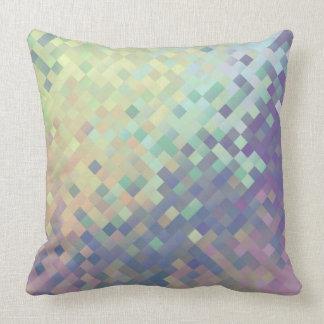 Pastel Pixel Throw Pillow