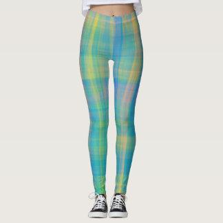 Pastel Plaid Leggings