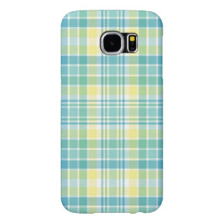 Pastel Plaid Samsung Galaxy S6 Cases